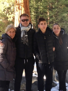 Ovidiu Balan cu familia