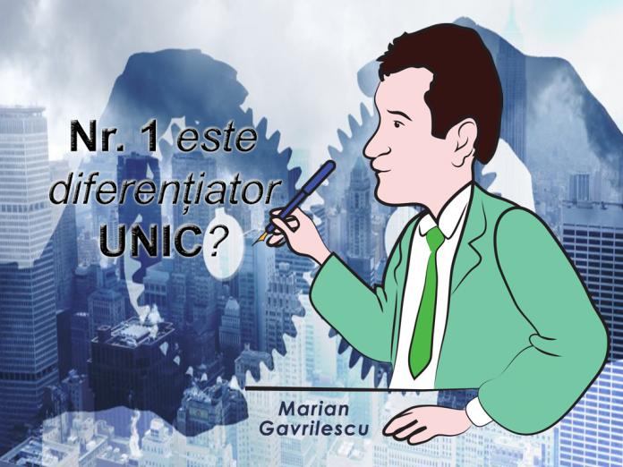 Nr. 1 este diferențiator UNIC?