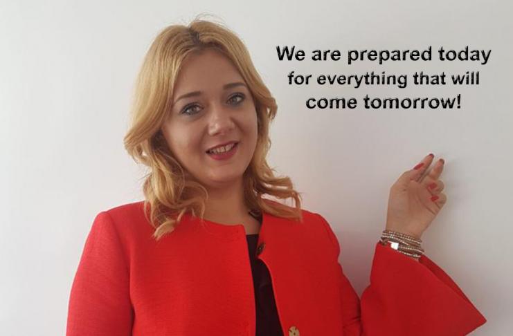 Andreea Gheorghe, Business Developer Alfa-Plam în România