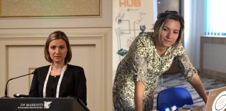 Ana Maria Stancu, președinta Asociației E-Civis și fondatoarea RoboHub