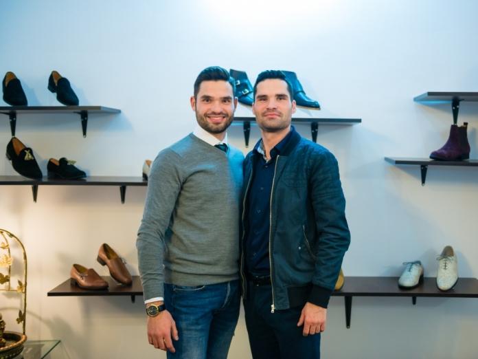 Andrei (foto stânga) și Mircea Rusu, fondatorii PaPrezzo