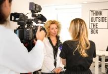 Bianca Tudor la conferința de lansare Elite Business Women Investment Fund