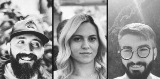 George, Ramona și Andrei, fondatorii Natural Sins