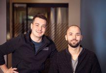 Alin Luca și George Moroianu, fondatorii Flip.ro