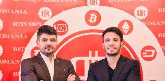 Constantin (stânga) și George (dreapta) Rotariu, fondatorii Bitcoin Romania
